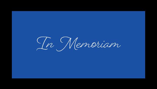 In Memoriam Paul Sint