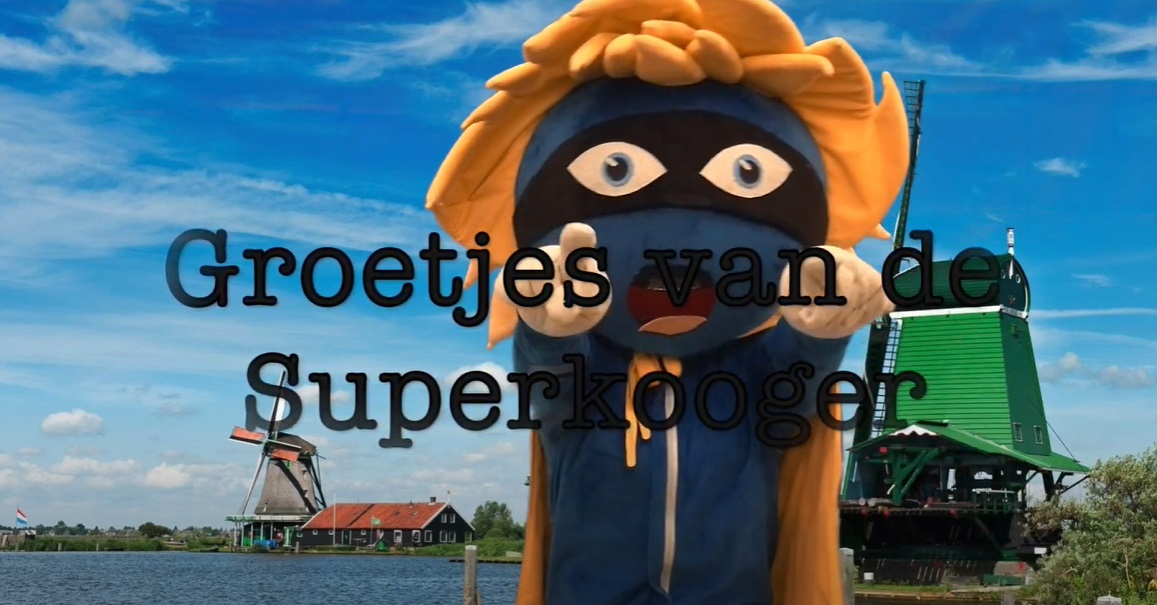 Nieuwe aflevering Groetjes van de Superkooger!