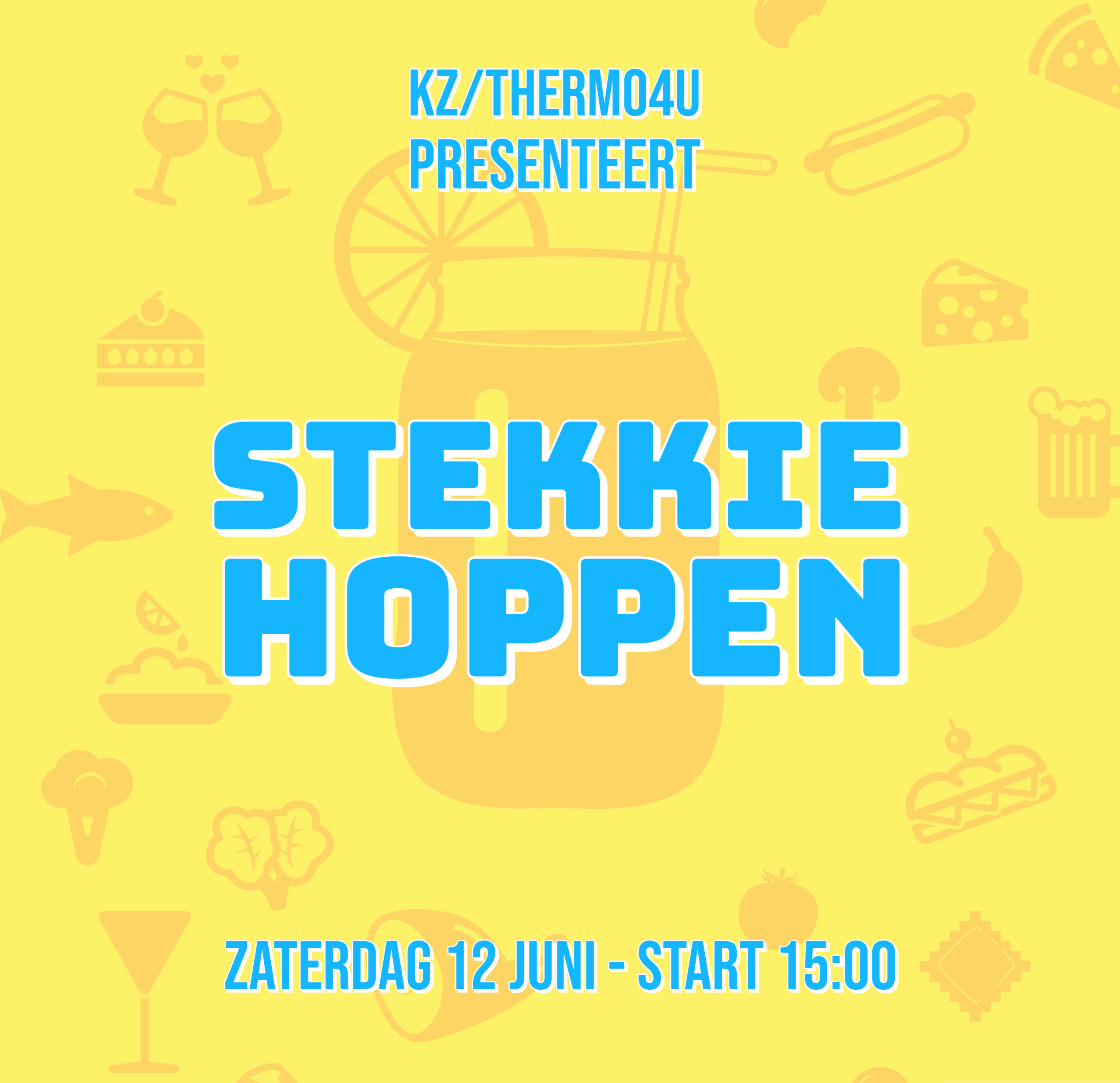 KZ organiseert: Stekkie Hoppen