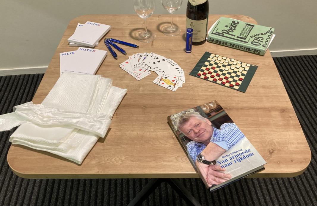 Het boek over Pieter Hildering is er!