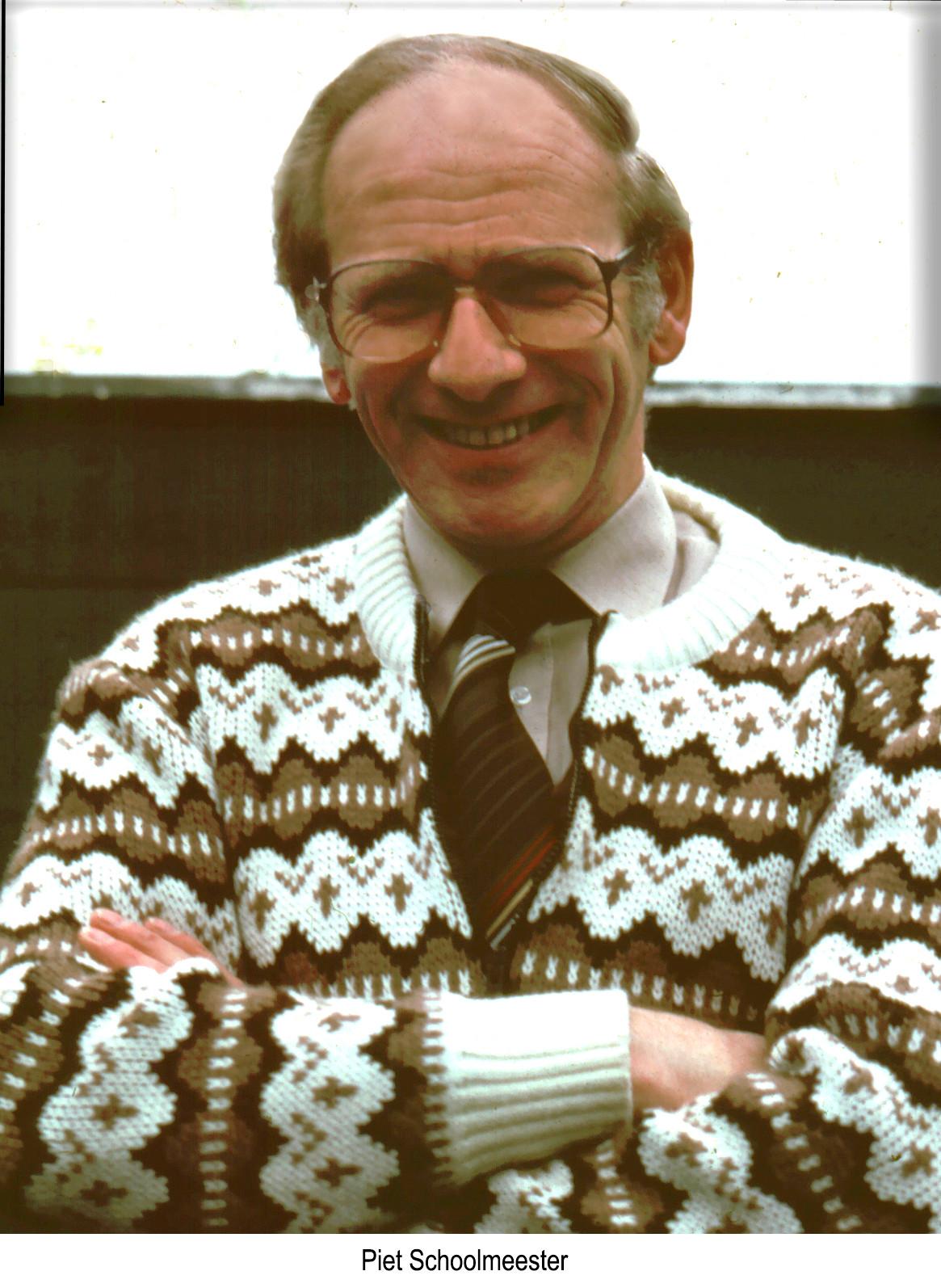 In Memoriam Piet Schoolmeester